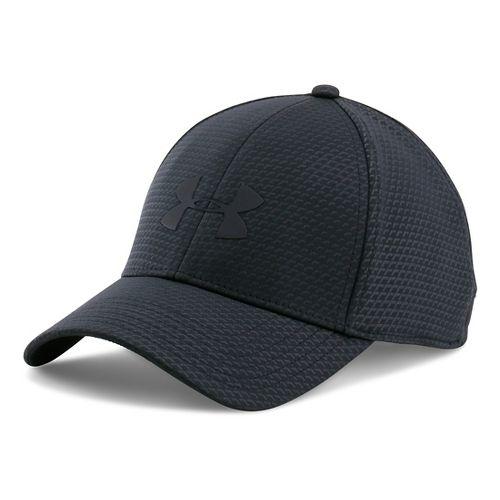 Mens Under Armour Storm Headline Cap Headwear - Black XL/XXL