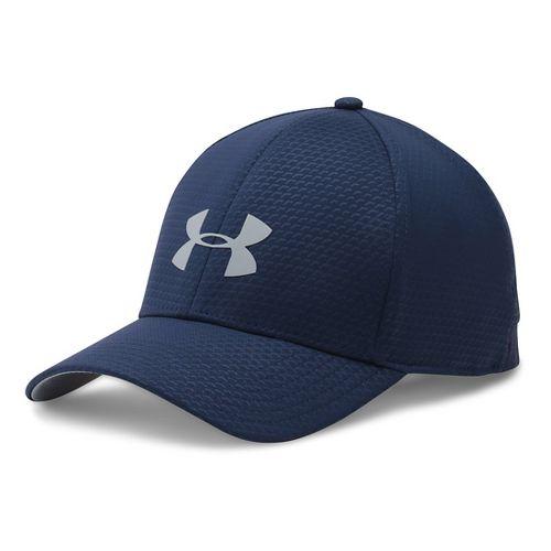 Mens Under Armour Storm Headline Cap Headwear - Midnight Navy L/XL