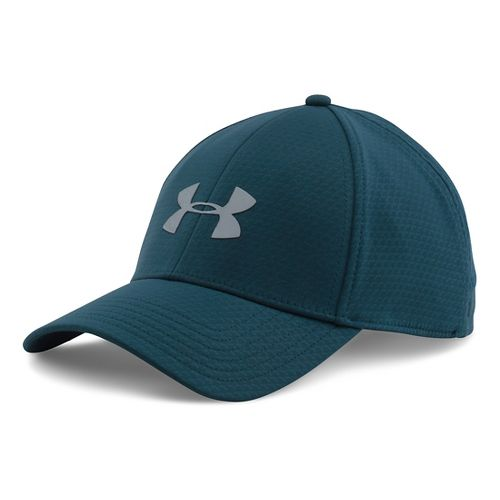 Mens Under Armour Storm Headline Cap Headwear - Nova Teal L/XL