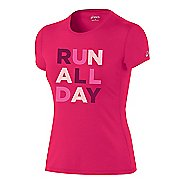 Womens ASICS24/7 Tech Tee Short Sleeve Technical Tops