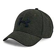 Mens Under Armour TwistTech Closer Cap Headwear - Downtown Green L/XL