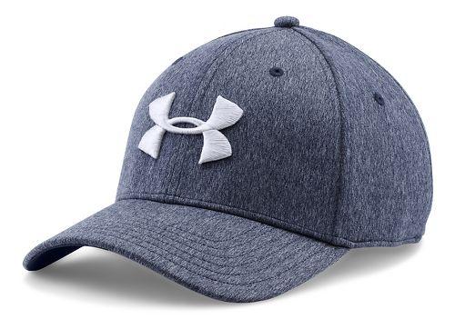 Mens Under Armour TwistTech Closer Cap Headwear - Midnight Navy M/L