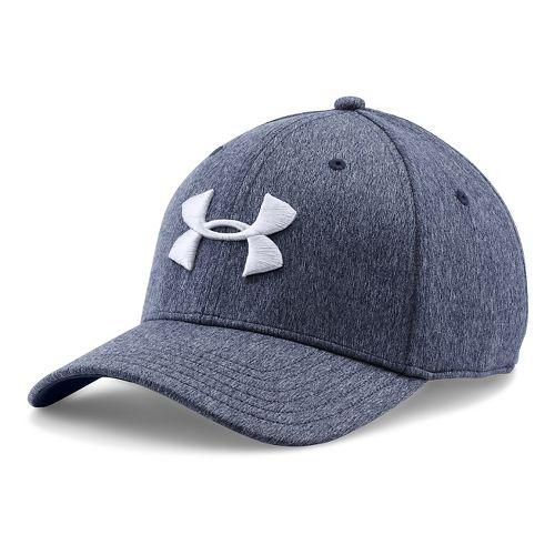 Mens Under Armour TwistTech Closer Cap Headwear - Midnight Navy L/XL