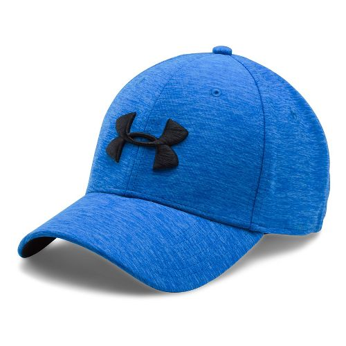 Mens Under Armour TwistTech Closer Cap Headwear - Blue Marker/Water M/L