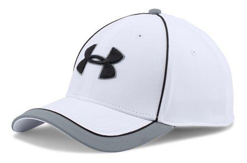 Mens Under Armour Team Train Cap Headwear - White L/XL