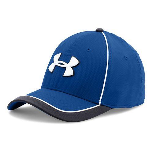 Mens Under Armour Team Train Cap Headwear - Royal M/L