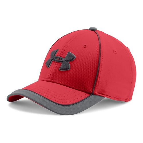 Mens Under Armour Team Train Cap Headwear - Red L/XL