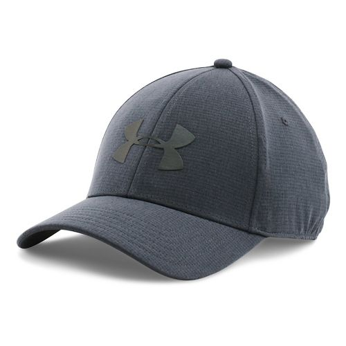 Mens Under Armour CoolSwitch Train Cap Headwear - Stealth Grey M/L