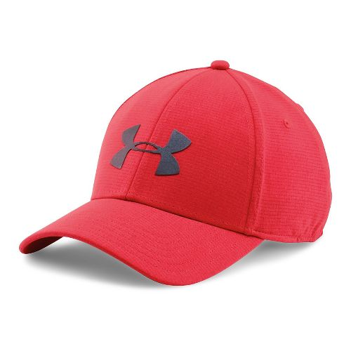Mens Under Armour CoolSwitch Train Cap Headwear - Red L/XL
