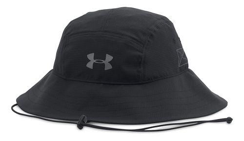 Mens Under Armour AirVent Bucket Headwear - Black