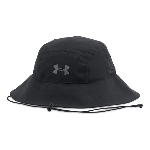 Mens Under Armour AirVent Bucket Headwear - Black