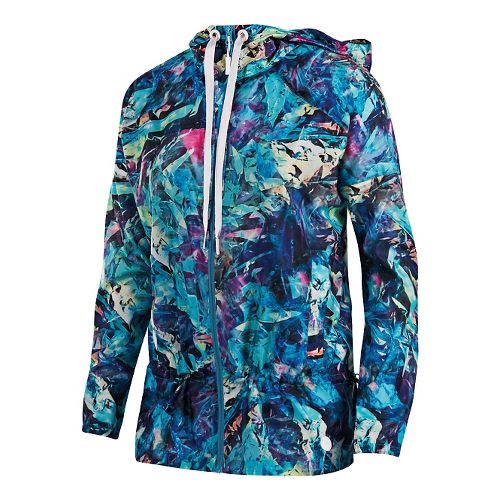 Womens ASICS Anorak Casual Jackets - Holographic L