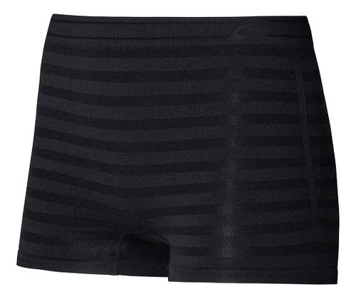 Womens ASICS ASX Boy Brief Underwear Bottoms - Black S/M