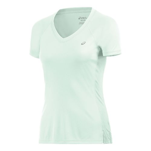 Womens ASICS ASX Dry Short Sleeve Technical Tops - Mint Green XL