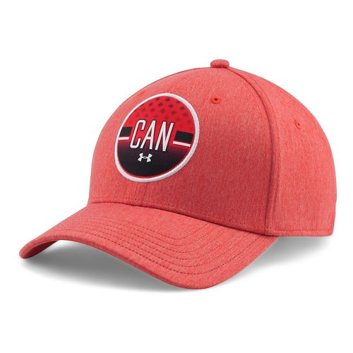 Mens Under Armour Country Pride LC Cap Headwear - Red L/XL