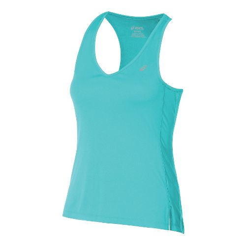 Womens ASICS ASX Dry Sleeveless & Tank Technical Tops - Turquoise M
