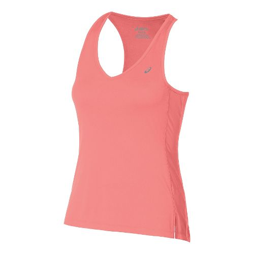 Womens ASICS ASX Dry Sleeveless & Tank Technical Tops - Orange XS