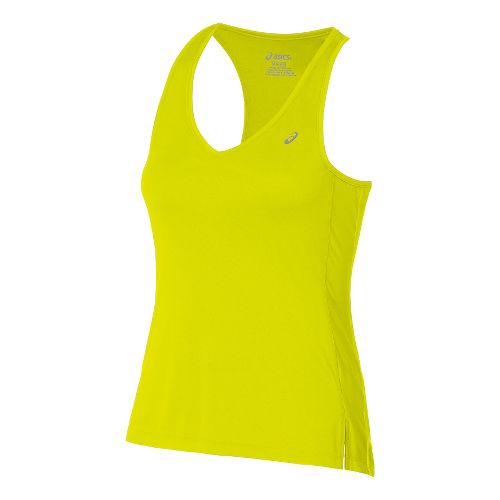 Womens ASICS ASX Dry Sleeveless & Tank Technical Tops - Safety Yellow M