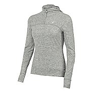 Womens ASICS ASX Lux 1/2 Zip Hoodie & Sweatshirts Technical Tops
