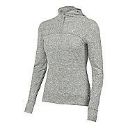 Womens ASICS ASX Lux 1/2 Zip Hoodie & Sweatshirts Technical Tops