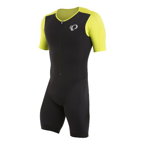 Mens Pearl Izumi ELITE Pursuit Tri Speed Triathlon Suits UniSuits - Black XL