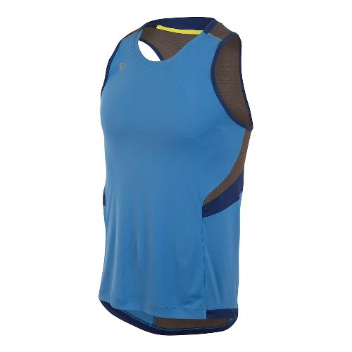 Mens Pearl Izumi Pursuit Singlet Sleeveless & Tank Technical Tops - Sky Blue XXL