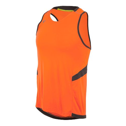 Mens Pearl Izumi Pursuit Singlet Sleeveless & Tank Technical Tops - Screaming Orange S