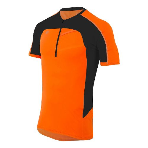 Mens Pearl Izumi Pursuit Endurance Short Sleeve Technical Tops - Screaming Orange M