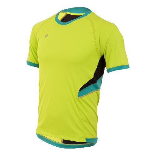Mens Pearl Izumi Pursuit Short Sleeve Technical Tops - Lime Punch XL