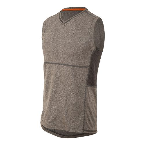 Mens Pearl Izumi Escape Sleeveless & Tank Technical Tops - Shadow Grey S
