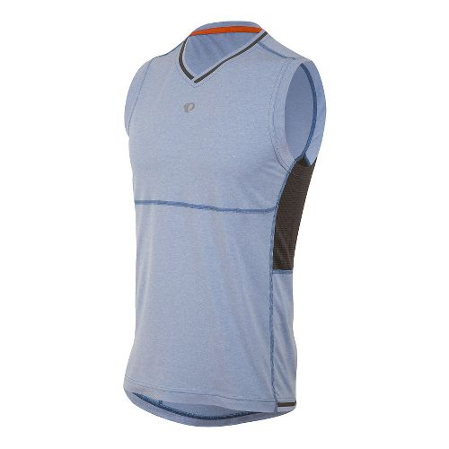 Mens Pearl Izumi Escape Sleeveless & Tank Technical Tops - Sky Blue S