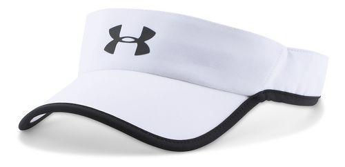 Mens Under Armour Shadow Visor 3.0 Headwear - White