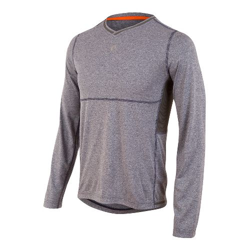 Mens Pearl Izumi Escape Long Sleeve Technical Tops - Deep Indigo XL