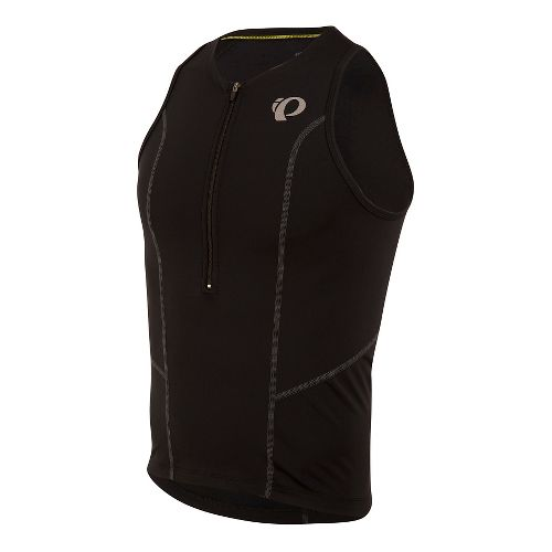 Mens Pearl Izumi SELECT Pursuit Tri Singlet Sleeveless & Tank Technical Tops - Black S ...