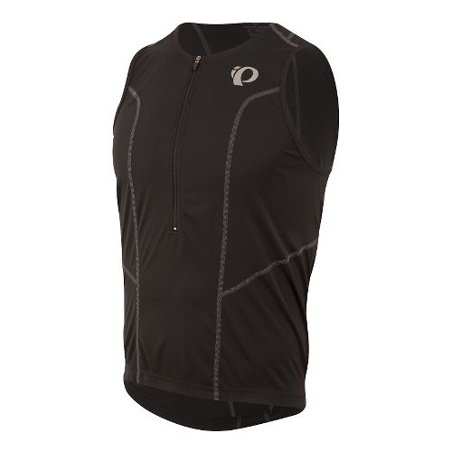 Mens Pearl Izumi SELECT Pursuit Tri Jersey Sleeveless & Tank Technical Tops - Black L ...