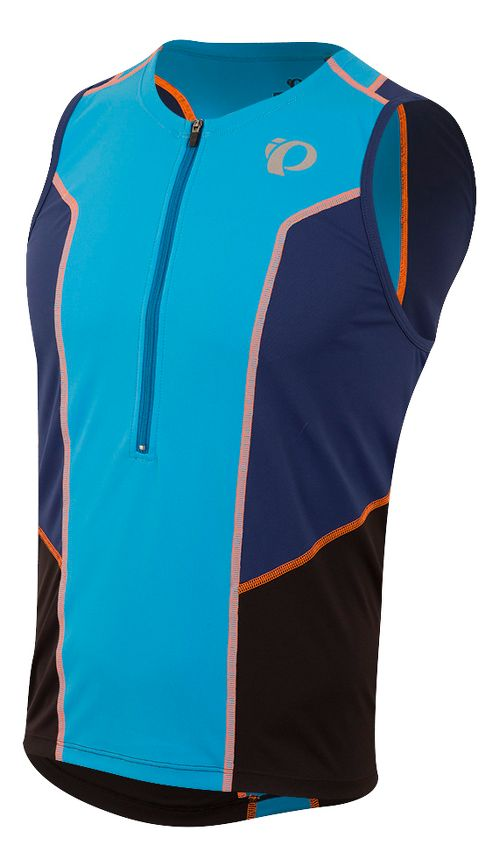 Mens Pearl Izumi SELECT Pursuit Tri SL Jersey Sleeveless & Tank Tops Technical Tops - Bel Air ...