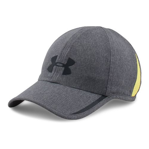 Mens Under Armour Shadow AV Cap Headwear - Graphite/Flash Light