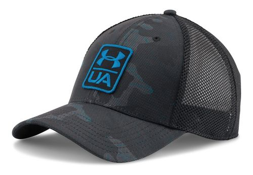 Mens Under Armour Flow Cap Headwear - Black