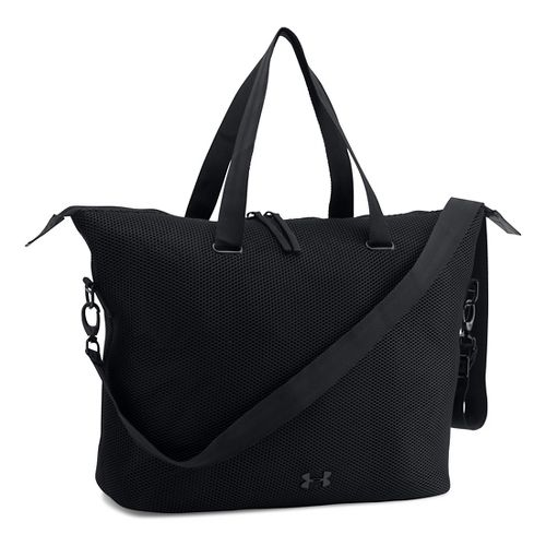 Womens Under Armour On The Run Tote Bags - Black