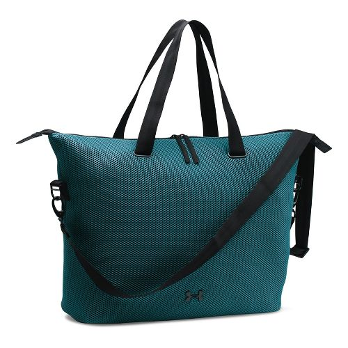 Womens Under Armour On The Run Tote Bags - Marlin Blue/Black