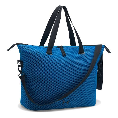 Womens Under Armour On The Run Tote Bags - Mediterranean/Black