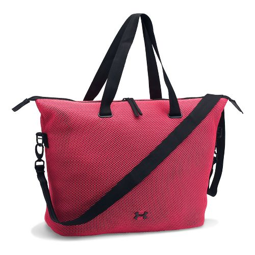 Womens Under Armour On The Run Tote Bags - Perfection/Black