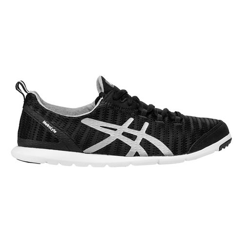 Womens ASICS MetroLyte Walking Shoe - Black/Silver 6