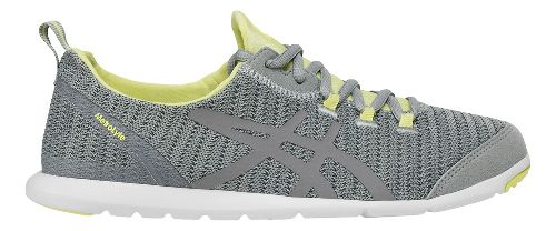 Womens ASICS MetroLyte Walking Shoe - Grey/Yellow 8