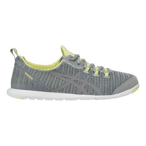 Womens ASICS MetroLyte Walking Shoe - Grey/Yellow 6.5