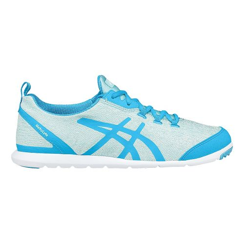 Womens ASICS Metrolyte Walking Shoe - Turquoise/White 10.5