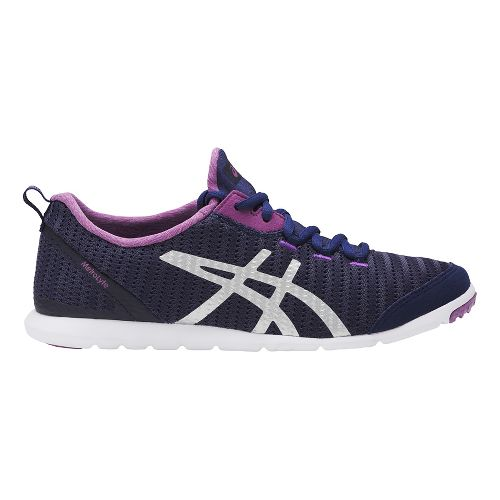 Womens ASICS MetroLyte Walking Shoe - Indigo/Orchid 7
