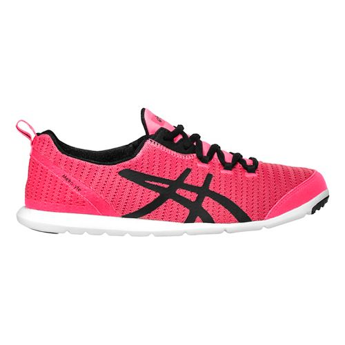 Womens ASICS MetroLyte Walking Shoe - Pink/Black 9