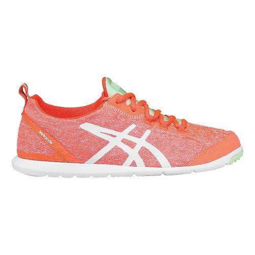 Womens ASICS Metrolyte Walking Shoe - Coral/White 10.5