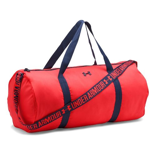 Womens Under Armour Favorite Duffel Bags - Pomegranate/Navy